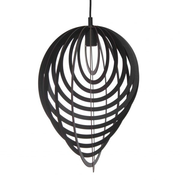 The Pacific pendant light in black