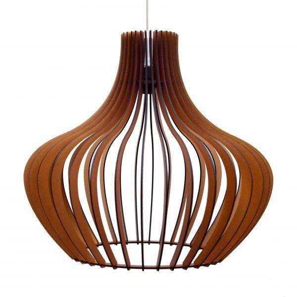 The Malbec pendant light in copper