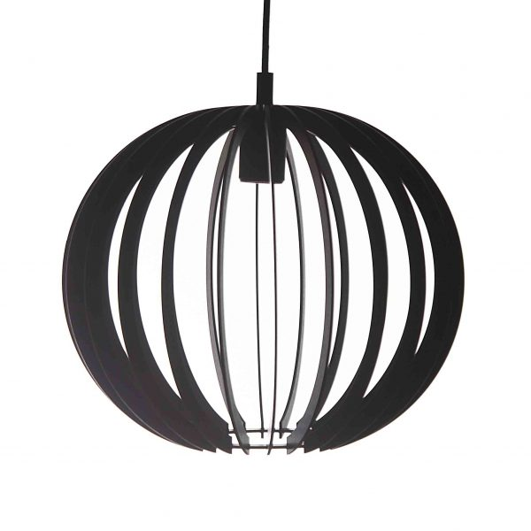 The Rondebosch pendant light in black