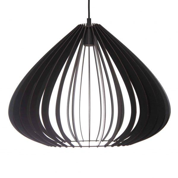 The Merlot pendant light in black