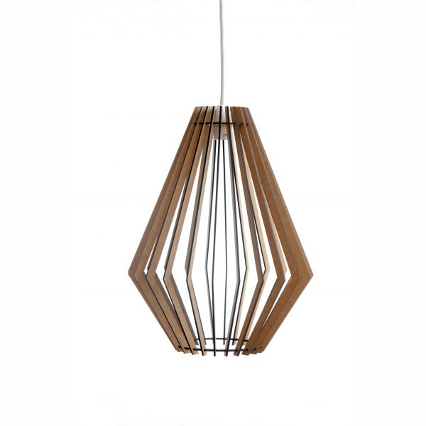 The Tokai wooden laser cut pendant light
