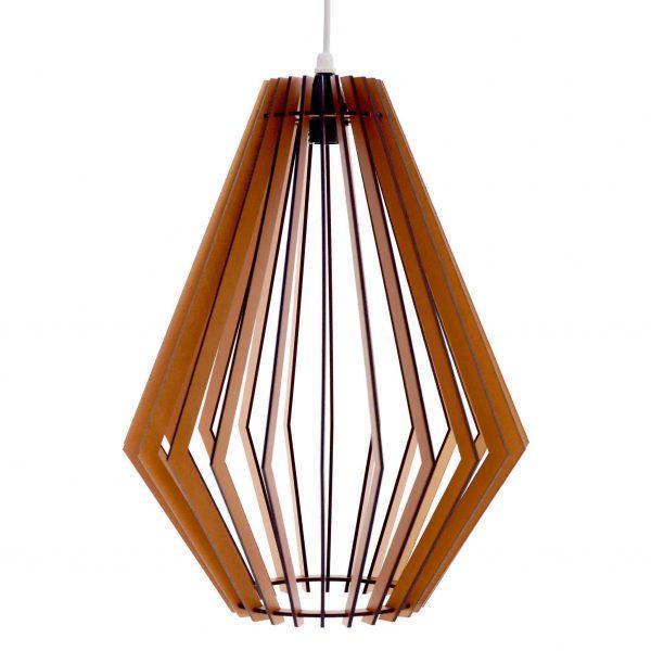 The Tokai pendant light in copper