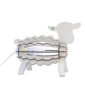 Kids Bedroom Desk Lamp Night Light Lamb Animal Shape