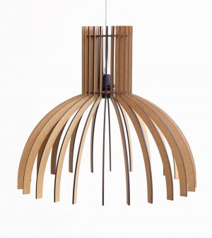 The Wynberg wooden laser cut pendant light