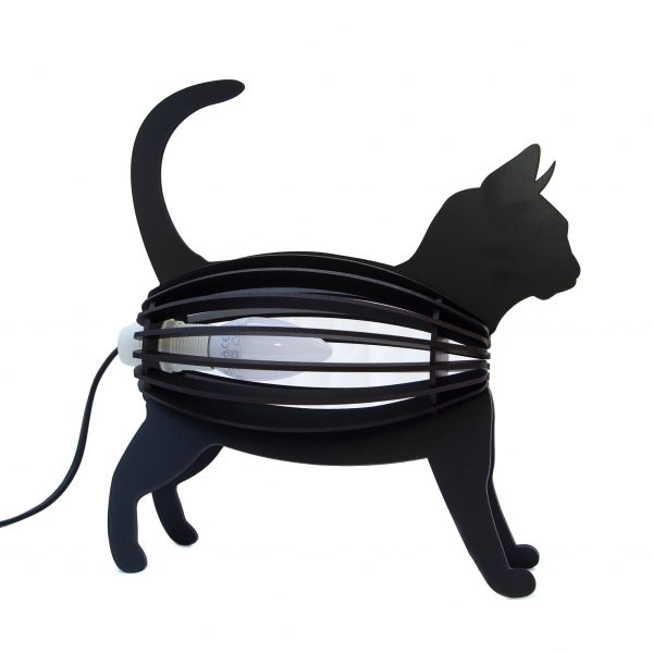 Kids Light Cat Black Desk Lamp