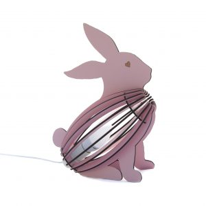 Bunny bedside desk lamp kid's bedroom