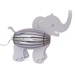Kids Light Elephant Lilac Desklamp