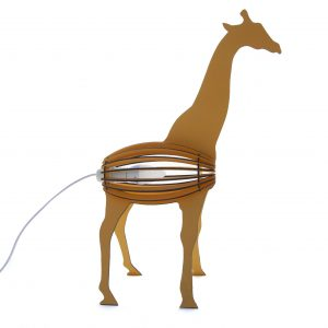 Giraffe Desk Lamp for the children's bedroom