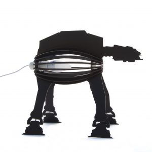 StarWars Black Desk Lamp