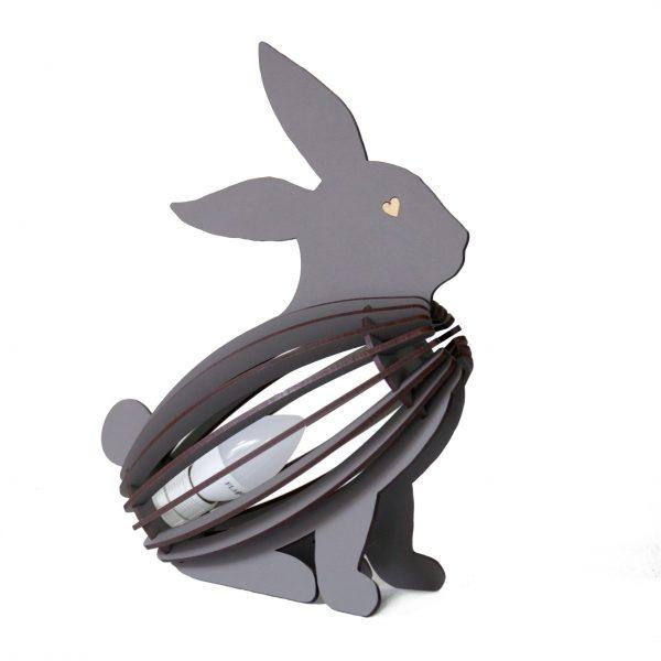 Bunny shape desk lamp for the children's bedroom