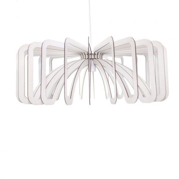 The Noordhoek pendant light in white