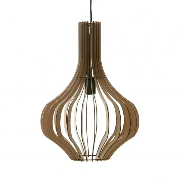 The Freesia wooden pendant light