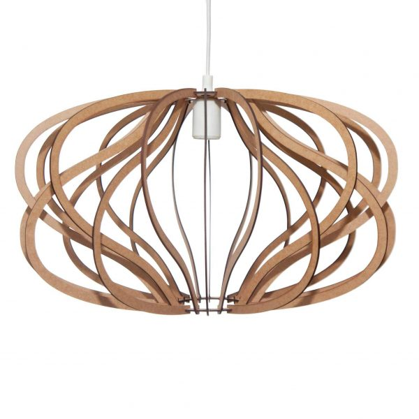 The Virgo pendant light in natural