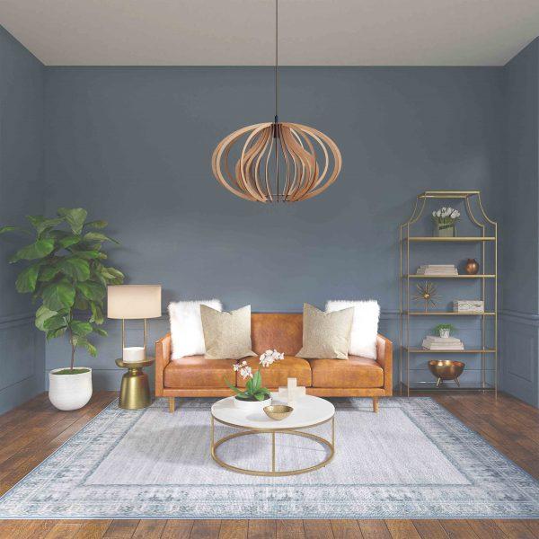 The Cassia pendant light in a pretty sitting room decor setting