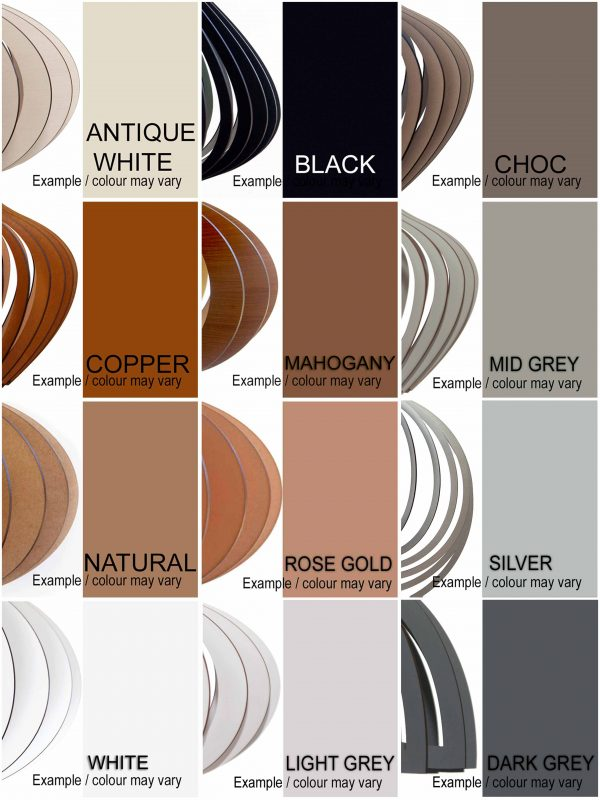 Colour swatch showing the 12 colours in the AssembLIT Colour palette